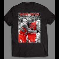 "OLDSKOOL ""FLU GAME"" MICHAEL JORDAN PIPPEN T-SHIRT"