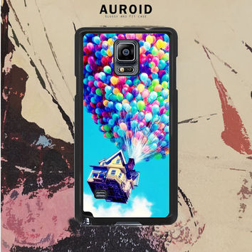 Up Balloons Samsung Galaxy Note 4 Case Auroid