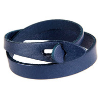 Real Leather Wrap Bracelet Women's Leather Jewelry Bangle Cuff Bracelet Men's Leather Bracelet  SL192