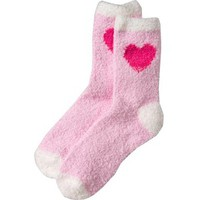 Old Navy Women's Chenille Icongraphic Cozy Socks