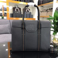 HERMES MEN'S LEATHER BRIEFCASE BAG CROSS BODY BAG
