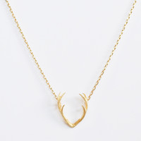 Luxe Gold Antlers