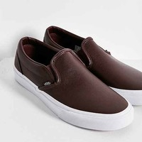 Vans Classic Leather Slip-On Sneaker