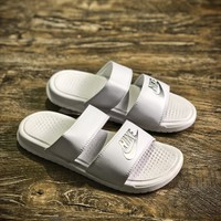 Nike Benassi Swoosh Sandals Style #8 Slippers - Sale
