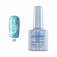 2015 New Product Nail Gel Polish UV&LED Shining Colorful 14Colors With any color with a different colorful Effects