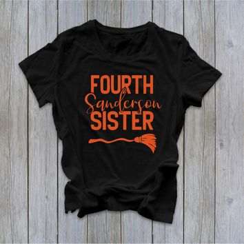 Fourth Sanderson Sister - Hocus Pocus - Halloween Tee -  Fall Tee - Ruffles with Love - RWL - Unisex Tee - Graphic Tee
