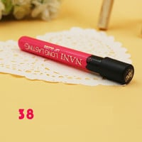 color cosmetics brand mc lip gloss Waterproof Beauty Makeup LipStick matte Lip Pencil Lipstick Lipgloss Lip 38 Colors VB024 P