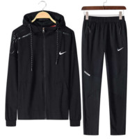 NIKE Sports suit, a long sleeve jacket, leisure sports training clothes two piece