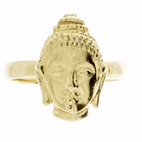 VidaKush Bindhi Buddha Knuckle Ring