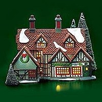 Dept 56 Lighted Ashbury Inn (#55557, Heritage Village Collection, Dickens Village Series), Retired Collectible