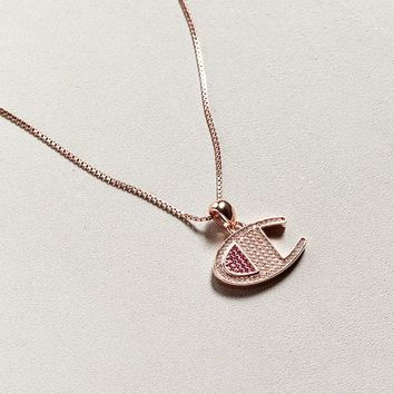 Champion Necklace | Urban Outfitters