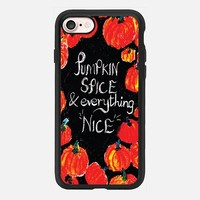 Pumpkin spice and everything nice iPhone 7 Case by Kanika Mathur | Casetify