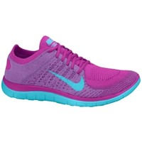 Nike Women's Free 4.0 Flyknit Running Shoes - Purple | DICK'S Sporting Goods