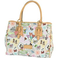 Disney Dooney & Bourke Sketch arge Tote Bag New with Tag