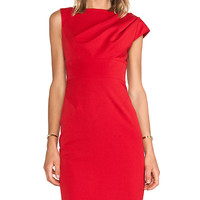 Black Halo Alexander Dress in Red