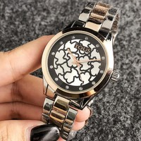 TOUS Woman Men Fashion Quartz Movement Wristwatch Watch