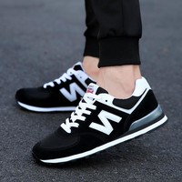 Mens Shoes Sneakers Men Breathable Casual Shoes Mens Flats Lace-Up Lovers zapatillas Canvas Sneakers Men zapatos de hombre mujer