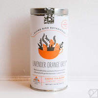 Flying Bird Botanicals Lavender Orange Grey Gift Tea