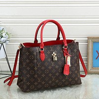 LV Louis Vuitton Monogram Canvas Handbag Shoulder Bag Tote Bag