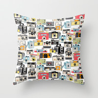 Make It Snappy! Throw Pillow by penny candy