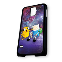 Jake and Finn Nebula Adventure Time Samsung Galaxy S5 Case