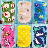 Spring Pet Clothes for Dogs Vest Puppy T-shirt Pet Coats Dog Clothes for Small Medium Pets Summer Dog Shirt Jersey Pullover 53