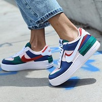 Nike Air Force 1 Shadow Retro Women Casual Sport Running Shoes Sneakers
