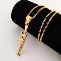 Stylish Jewelry Gift Shiny New Arrival Club Hip-hop Necklace [8439444995]
