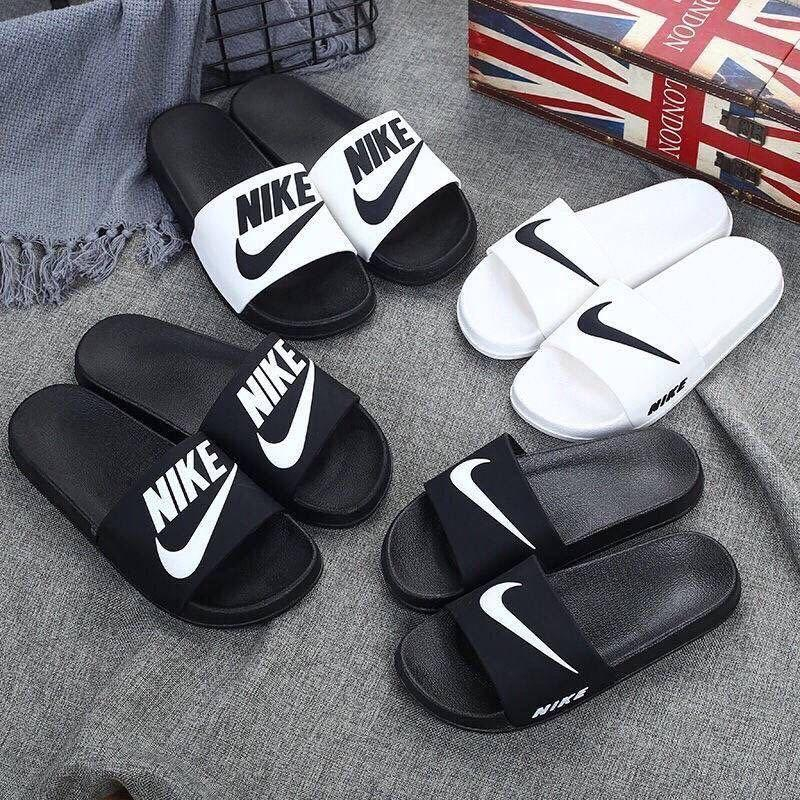 Image of Nike Woman Men Fashion Casual Multicolor Sandals Slipper Shoes
