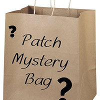 Mystery Patch Bag Bundle Iron On Applique Alternative Clothing DIY Accessories