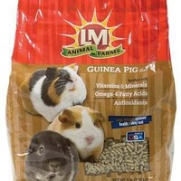 LM Animal Farms Guinea Pig Diet Pellet Food 5 lbs.