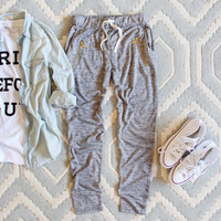 Spool Active Ellie Joggers in Gray