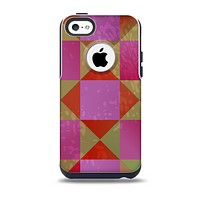 Pink, Red and Green Drop-Shapes Skin for the iPhone 5c OtterBox Commuter Case