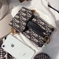 Dior new mobile phone bag chain bag messenger small bag wild presbyopia female bag summer mini shoulder bag lipstick bag