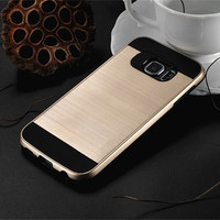 New Brushed Slim Hard Case For Samsung Galaxy S5 S6 S7 Edge / S8 S8 Plus