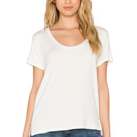 Regalect Barry U Neck Tee in White