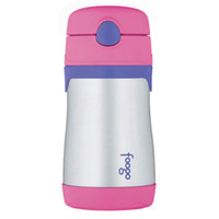Thermos Foogo Leak-Proof Straw Bottle - Pink