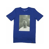 Air Jordan Men's JSW Portrait Photo Blue T-Shirt