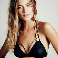 Intimately Womens Fish in the Sea Strappy Bra