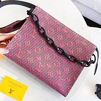 LV Louis Vuitton New fashion monogram leather shoulder bag women