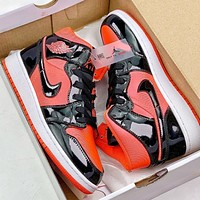 NIKE Air Jordan 1 Casual sports basketball shoes-24