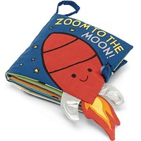 Zoom To The Moon Soft Book by Jellycat