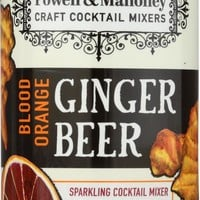 POWELL & MAHONEY: Mixer Ginger Beer Blood Orange 4 pk, 48 oz