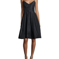 Sleeveless Fit & Flare Cocktail Dress, Size:
