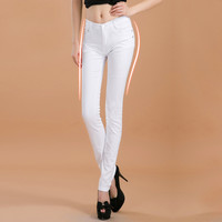 2016 new fashion boutique female Women's  candy colored jeans / Woman skinny solid color stovepipe pencil jeans