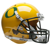 Oregon Ducks NCAA Replica Air XP Full Size Helmet (Alternate Gold w-GN Decal 2)
