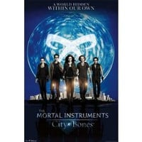 The Mortal Instruments City of Bones - Group Movie Poster