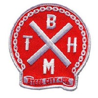 Bring Me The Horizon Men's BMTH Embroidered Patch Red