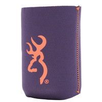 Browning Navy/Orange  Can Coozies