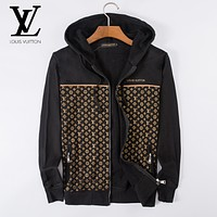 Boys & Men Louis Vuitton LV Cardigan Jacket Coat Hoodie